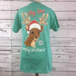 Simply Southern Small Deer T-Shirt
